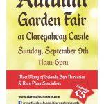Autumn Garden Fair at Claregalway Castle this weekend