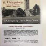 Talk on Claregalway Friary