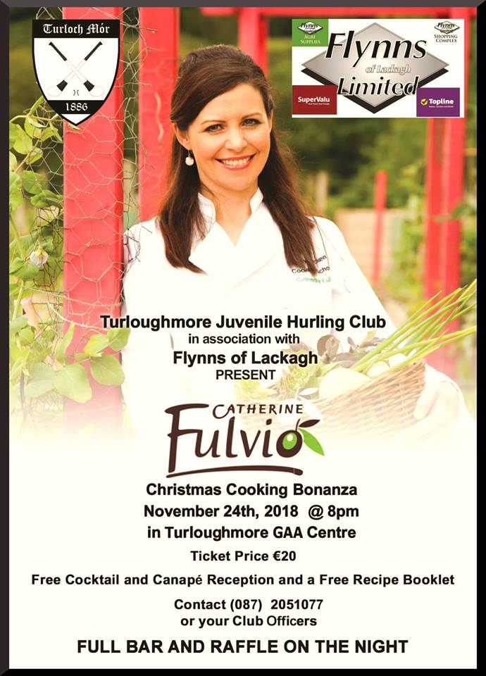 Catherine Fulvio is coming Turloughmore