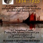 Percy French event in Claregalway Castle