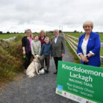 Minister Visits Trail to Knockdoemore Lackagh